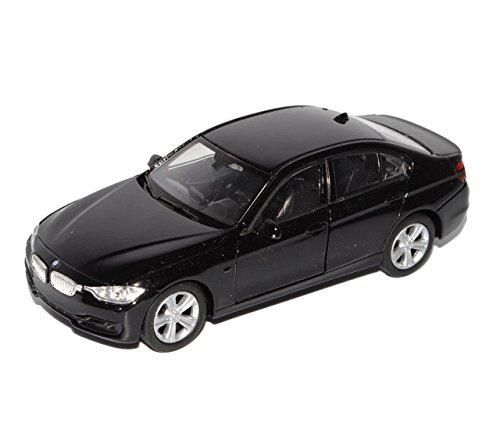 BMW 3er F30 335i Limousine Schwarz AB 2012 ca 1/43 1/36-1/46 Welly Modell Auto