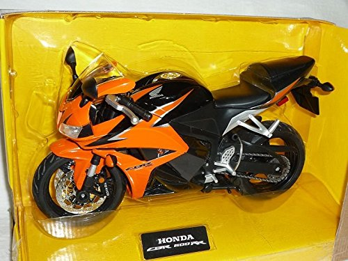 Honda Cbr600rr Cbr600 Cbr 600 Rr 600rr Orange Schwarz 1/9 Rastar Motorradmodell Motorrad Modell