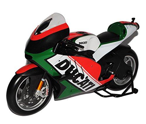Ducati Desmosedici Flaggen Italien Design Italy 1/6 Maisto Modell Motorrad mit individiuellem Wunschkennzeichen