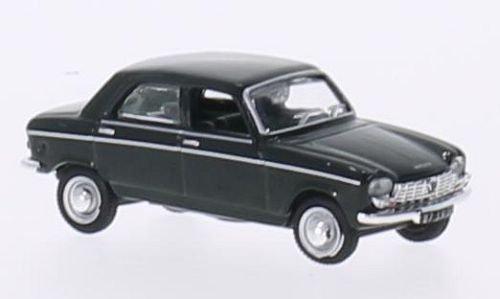 Peugeot 204, dunkelgrün, 1966, Modellauto, Fertigmodell, Norev 1:87