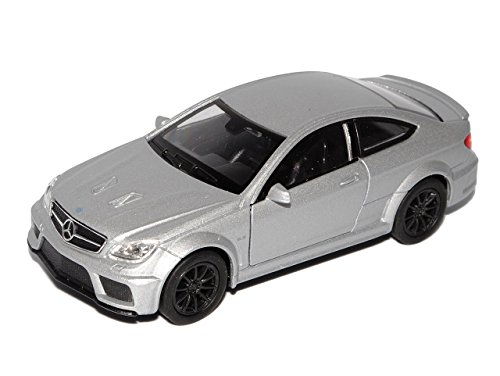 Mercedes-Benz C-Klasse C63 AMG Coupe C204 Silber 2011-2015 ca 1/43 1/36-1/46 Welly Modell Auto