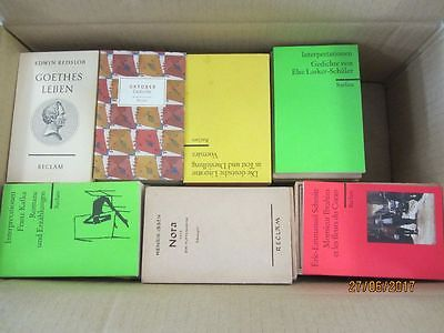 98 Bücher Hefte Reclam Verlag Reclamhefte Reclam Hefte