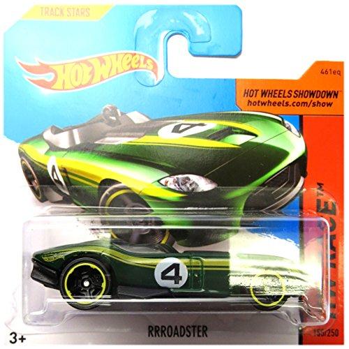 Hot Wheels Rrroadster dunkelgrün No. 4 1:64