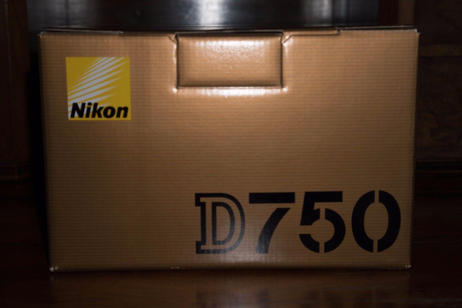 Nikon D750 BK EU Vollformat Digital Kamera Body