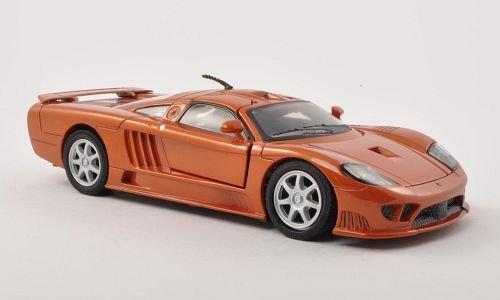 Saleen S7, met.-dkl.-orange , 2004, Modellauto, Fertigmodell, Motormax 1:24