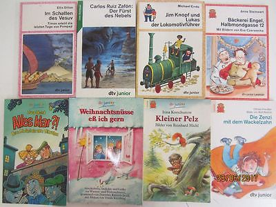 124 Bücher Jugendromane Jugendbücher junge Leser dtv junior dtv pocket