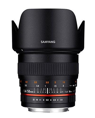 Samyang 50mm F1.4 Objektiv für Anschluss Sony Alpha