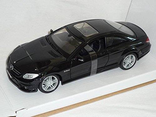 Mercedes-Benz Cl-klasse Cl63 AMG Cl 63 Coupe C216 Schwarz 1/24 Maisto Modellauto Modell Auto