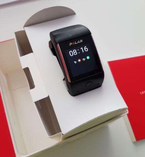 Polar M600 Smartwatch, Sportuhr, GPS, WiFi, Herzfrequenzmessung am Handgelenk
