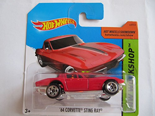 Hot Wheels - 2014 - ´64 CORVETTE STINGRAY, rot (223)