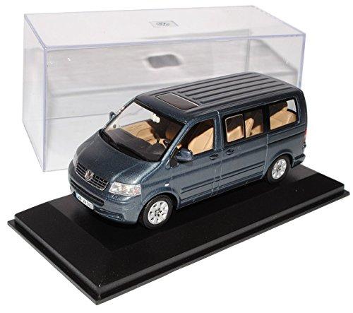 VW Volkswagen T5 PeRSonen Transporter Grau Vor Facelift 2003-2009 1/43 Minichamps Sonderangebot Modell Auto