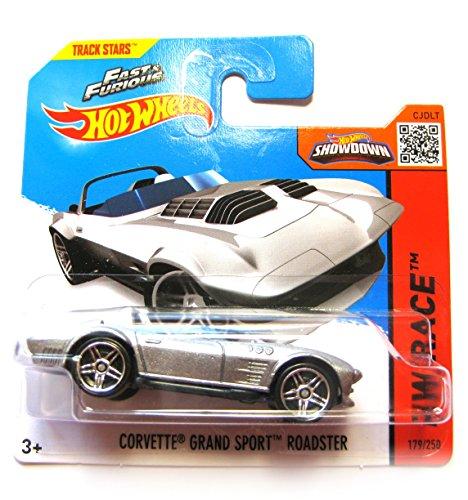 Hot Wheels Chevrolet Corvette Grand Sport Roadster silber 179/250 1:64