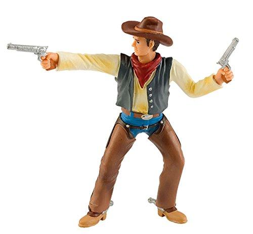 Bullyland 80671 - Spielfigur - Cowboy mit Colts, Circa 10 cm