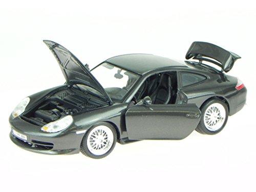 Porsche 911 996 GT3 schwarz Modellauto 18-12040 Bburago 1:18