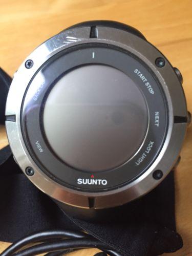 Suunto Ambit 2 HR Sapphire Edition schwarz Brustgurt - Wie neu