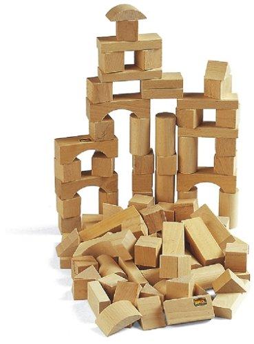 Brio 30153000 - Holzbausteine, 50 Teile