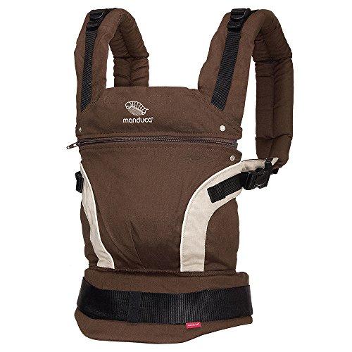 Manduca 222-02-54-000 Baby und Kindertrage, Bauch-, Rücken- und Hüfttrage, braun
