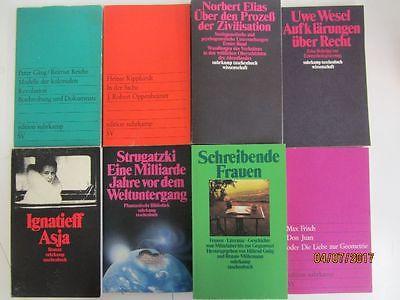 106 Bücher Taschenbücher suhrkamp Verlag