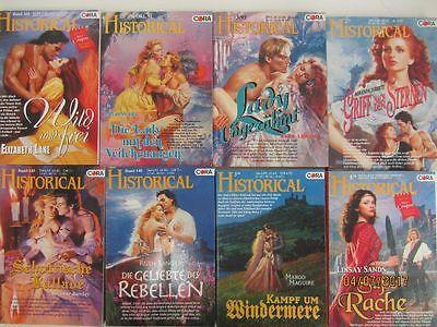 94 Bücher Romane historische Liebesromane Historical Cora Verlag
