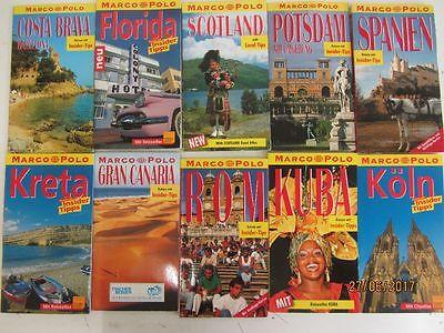 127  Bücher Marco Polo Taschenbücher Reiseführer  national und international