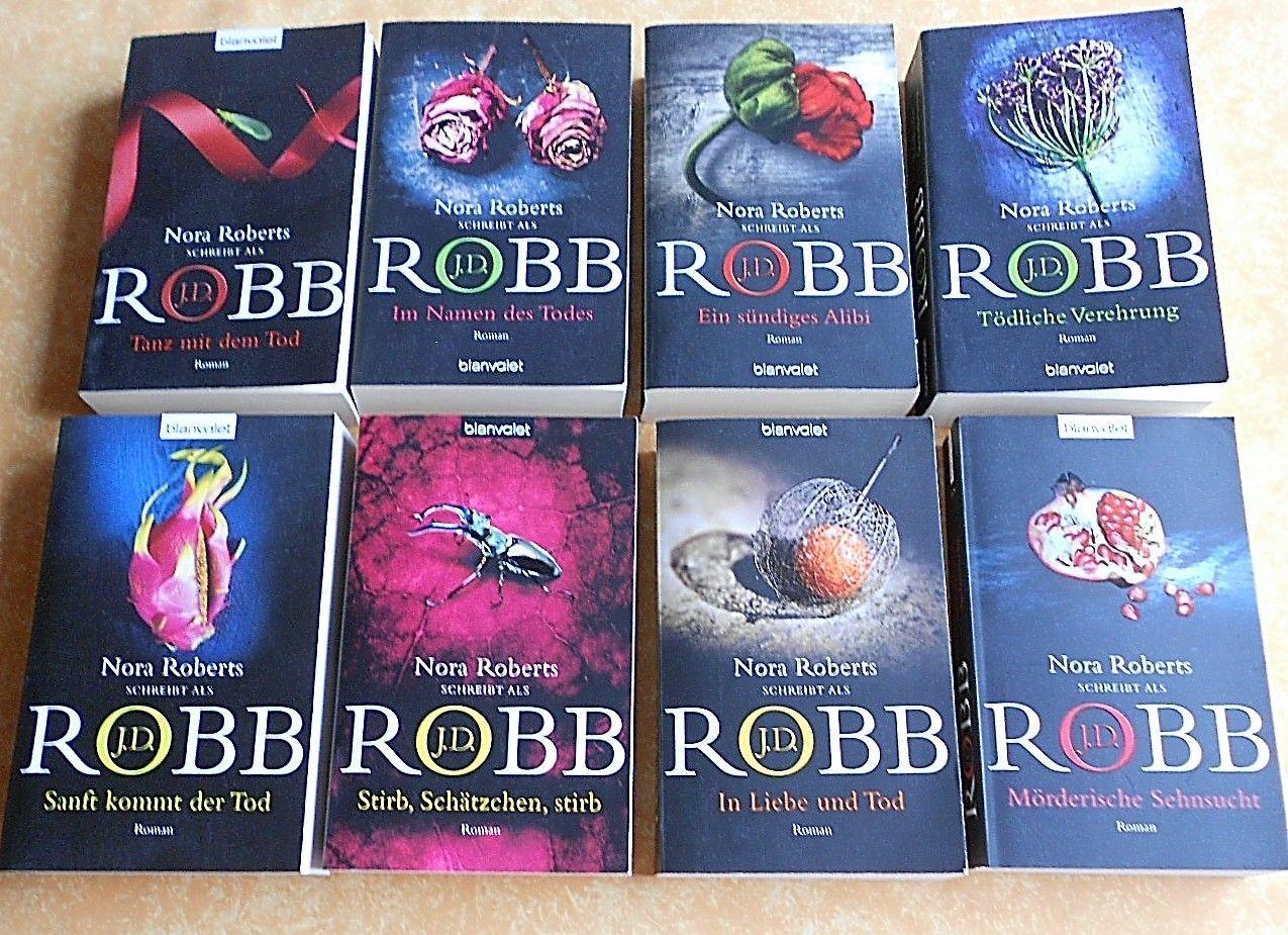 Bücherpaket Nora Roberts 8 x J.D. Robb 2011-2015