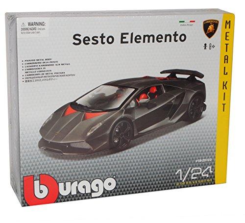 Lamborghini Sesto Elemento Coupe 2012 Bausatz Kit 1/24 Bburago Modell Auto