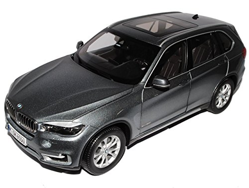 BMW X5 F15 SUV Space Grau Ab 2014 1/18 Jadi Modell Auto mit individiuellem Wunschkennzeichen