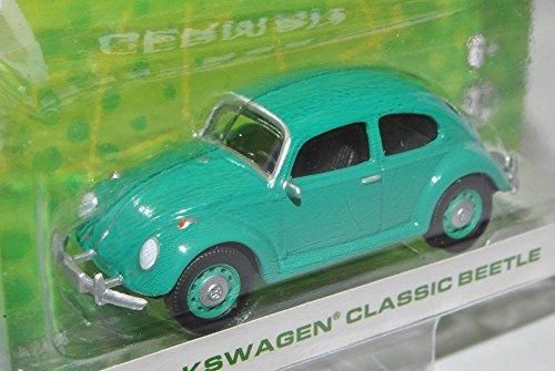 VW Volkswagen Käfer Grün 1/64 Greenlight Modell Auto