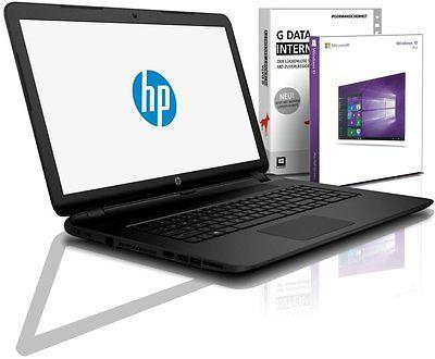 HP Notebook 17,3 Zoll - Quad Core 4 x 1,80 GHz - 8 GB - 1000 GB - Windows 10 Pro