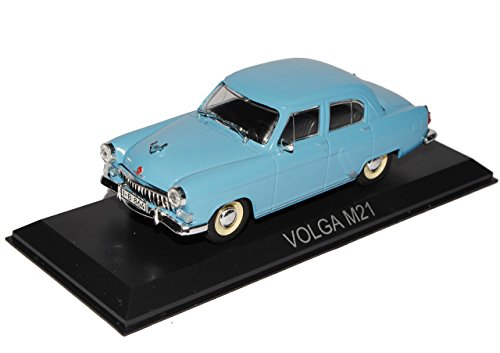 GAZ Volga M21 Limousine Blau 1/43 Modellcarsonline Modell Auto
