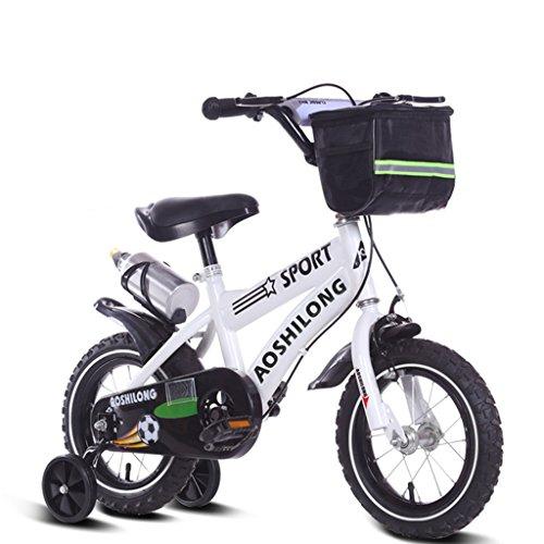 Guo Kind Fold Fahrrad 3-6-8 Jahre Old Baby Kinderwagen 12 Zoll 14 Zoll 16 Zoll 18 Zoll Bike ( Farbe : White.2 , größe : 12Inch )