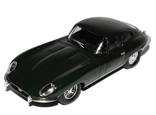 Jaguar E-Type Coupe Grün 1962 1/43 Modellcarsonline Modell Auto