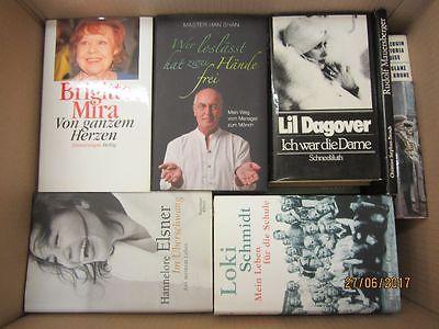 30 Bücher Biografie Biographie Memoiren Autobiografie Lebenserinnerung