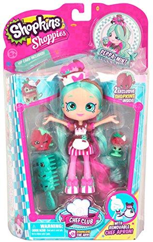 Shopkins Chef Club Shoppies Season 3 Peppa-Mint Doll