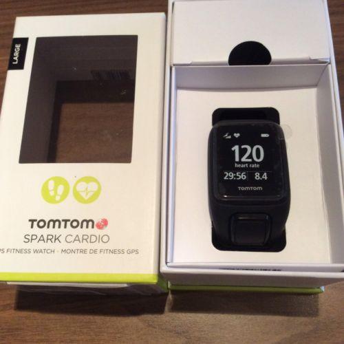 TomTom Spark Cardio Fitness GPS-Uhr Größe L