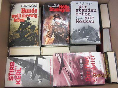 36 Bücher Romane Weltkriegsromane Kriegsromane