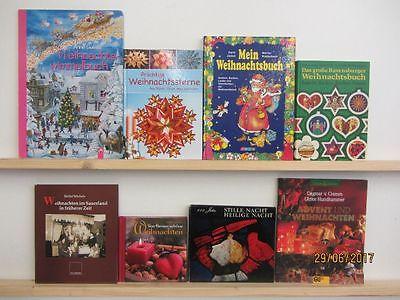 68  Bücher Weihnachten Advent Christfest weihnachtliche Bücher Weihnachtsbasteln