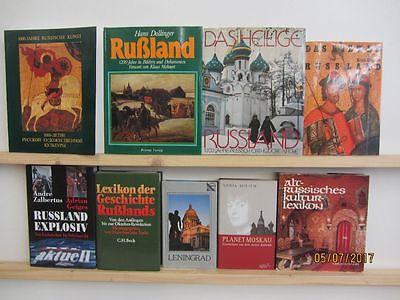 32 Bücher Bildbände Russland russische Geschichte Kunst Kultur