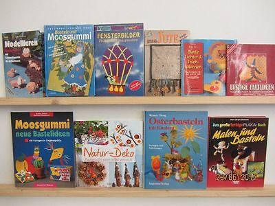 74 Bücher Hefte Basteln Bastelbücher Windowclor Origami Naturbasteln