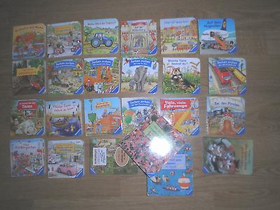 24 kleine schöne Bilderbücher aus stabiler Pappe - SIEHE BILD -