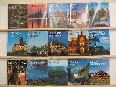 Edition der deutschen Länder Bildbände deutsche Bundesländer 15 Bände