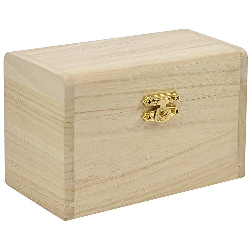 Eduplay Holz-Schatzkiste zum bemalen