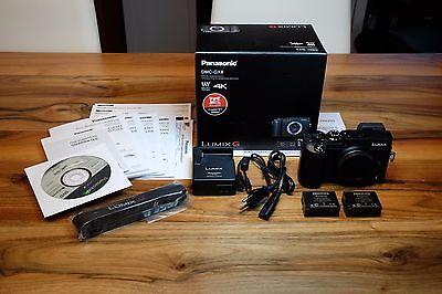 Panasonic Lumix DMC-GX8 Body (schwarz, 2077 Auslösungen) + zweiter DMW-BLC12E