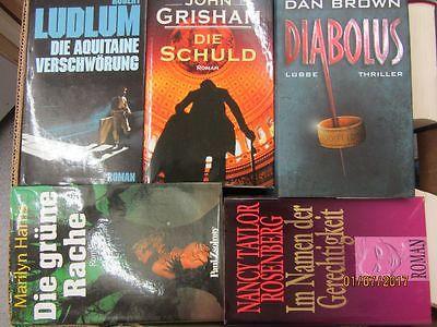 34 Bücher Romane Krimi  Kriminalromane Spionageromane Detektivromane Paket 2