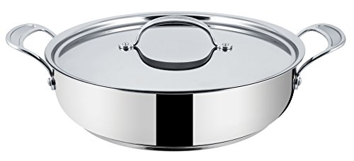 Tefal E80399 Jamie Oliver Professional Inox Induction Wave Servierpfanne 30 cm