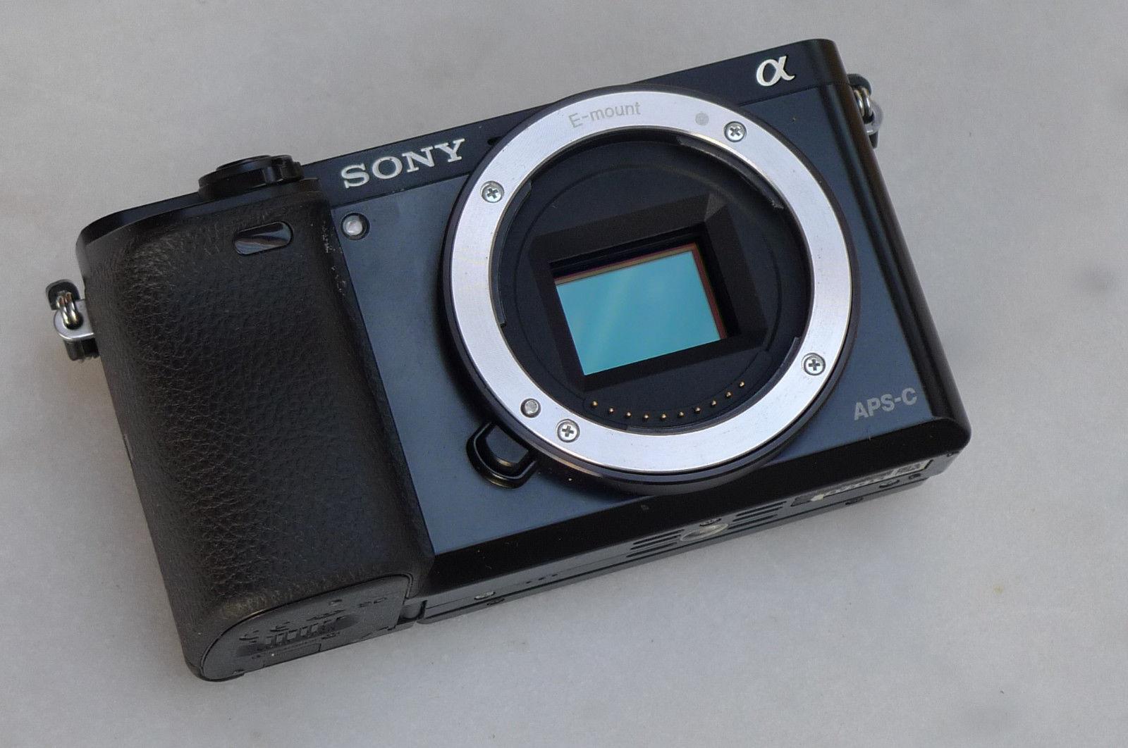 Sony Alpha 6000 - 24.3 MP - Schwarz - ohne Mindestpreis - mit Gewährleistung