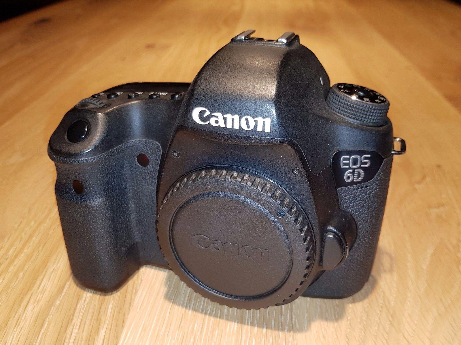 Canon EOS 6D Vollformat SLR-Digitalkamera - nur Gehäuse/ Body - guter Zustand