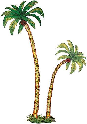 Dekors 2-Palme im Karton–1.16M und 1,8m