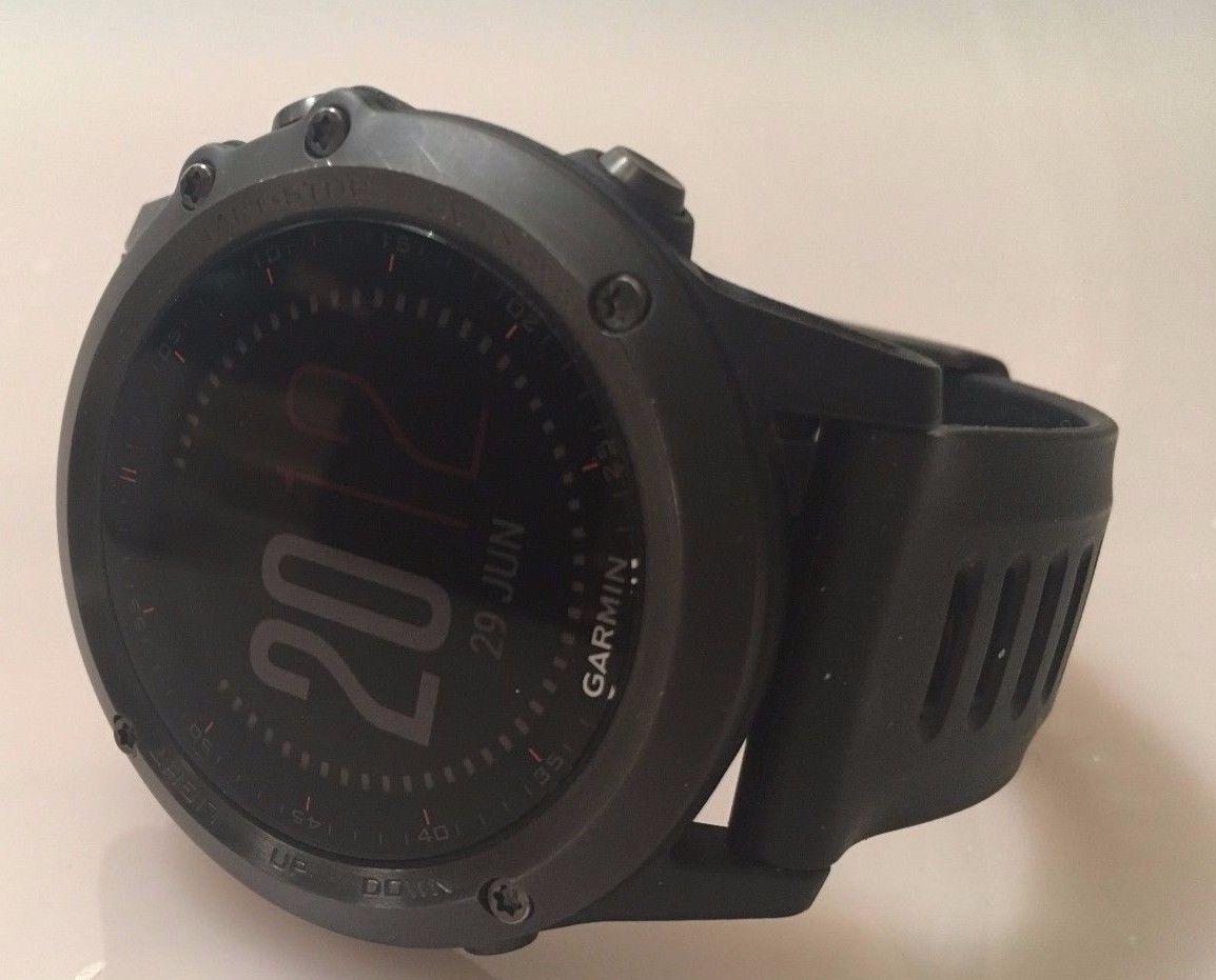 Multi Sport Armbandcomputer Garmin Fenix 3 im HRM Bundle (black/black)