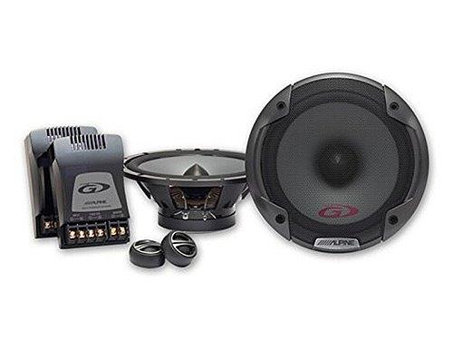 Alpine Auto Lautsprecher Kompo System 300 Watt Opel Astra H ab 05 Einbauort vorne : Türen / hinten : --